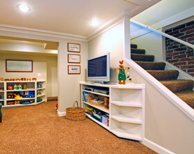 As Experienced Contractors, We Can Put The Finishing Touches On Your  Basement To Transform It Into Usable Space.