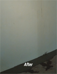 Basement Leak Repair Service Bloomfield Hills MI - Now Dry - real-solution-after